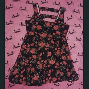 Gothic Rose Dress Hot Topic Vampire Floral